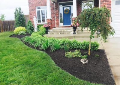 Luxury Home Gardening Image | Green Ninja Lawn Care Service London Ontario
