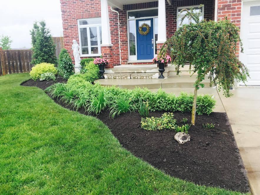Luxury Home Gardening Image | Green Ninja Lawn Care Service London Ontario
