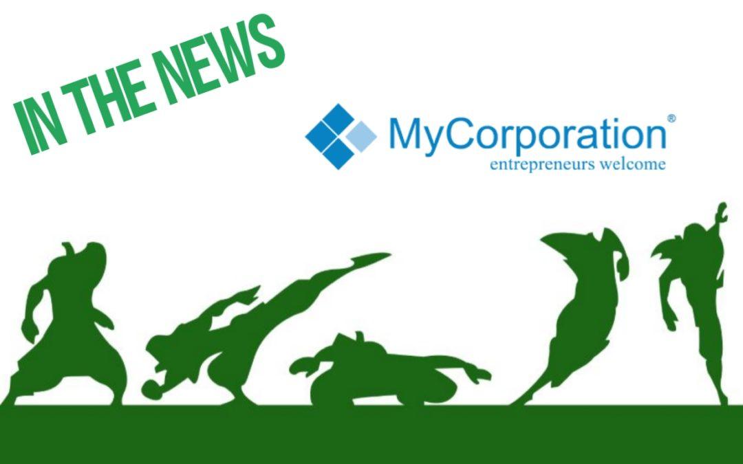 Green Ninja News: My Corporation Feature